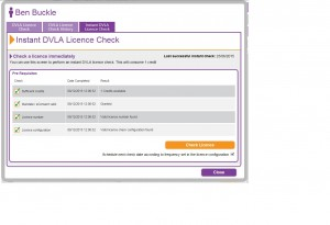 Screen Shot - Instant Check