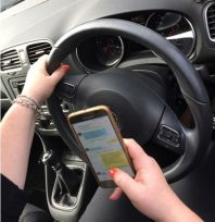 Six points if caught texting at the wheel
