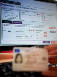 CityPress- DriverHire.Pictured, Driving License Check..