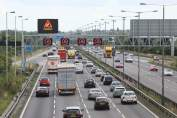busy smart motorway