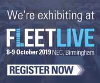 Fleet Live exhibition 1-9 October 2019. NEC Birmingham.